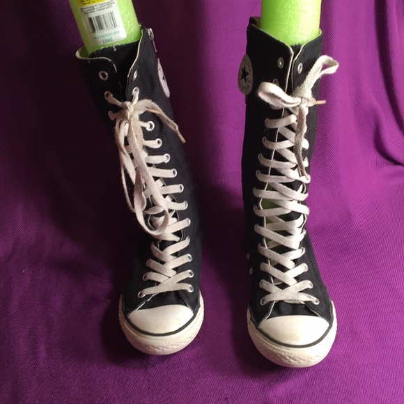 Converse Other - Converse zip up lace up high tops